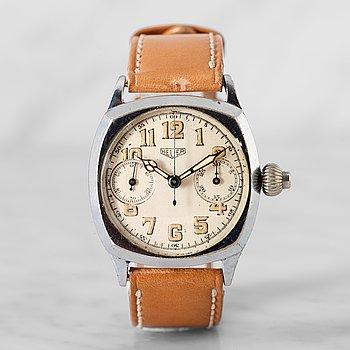 """1. HEUER, """"Pre-Monza"""",  enknappskronograf, armbandsur, 32,5 mm,"""