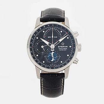 ETERNA, Tangaroa, kronograf, armbandsur, 42 mm,