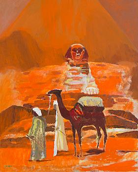 "ENRICO GARFF, ""EGYPT LIGHT""."