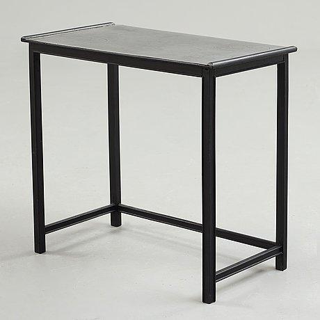 Björn trägårdh & nils fougstedt, a pewter top table, svenskt tenn, sweden ca 1930.