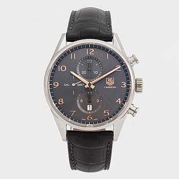 TAG HEUER, Carrera, Caliber 1887, armbandsur, 43,3 mm, kronograf,