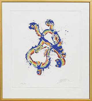 FERNANDEZ ARMAN, färglitografi, signerad och numrerad 200/200.