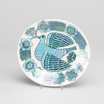 BIRGER KAIPIAINEN, BIRGER KAIPIAINEN, porcelain plate.