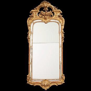 10. A Swedish Rococo 1760's mirror.