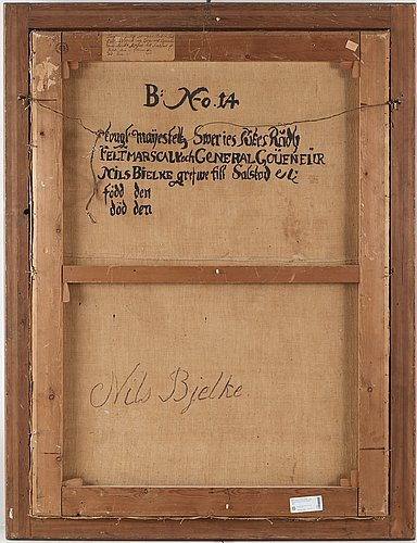 David klöcker ehrenstrahl replica, lieutenant general nils bielke (1644-1716).