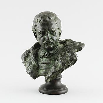 INGEL FALLSTEDT, skulptur, brons, signerad I Fallstedt.