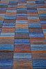 "Mai wellner, a carpet, ""slagrutan"", flat weave, ca 217 x 163,5 cm, signed ab mmf mw."