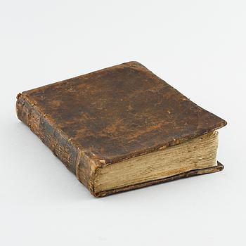 "BOK, ""Passions-andackt..."", Haquin Spegel, tryckt hos Joh. L. Horrn, Stockholm, 1727."