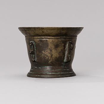 A late 16th century South European mortar.
