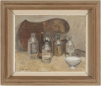 LOUIS BASTIN, olja på duk, signerad Bastin och daterad 1954.