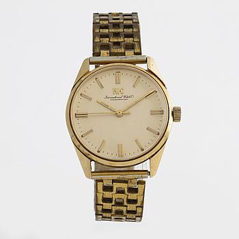 IWC, International Watch Co., Schaffhausen, wristwatch, 35 mm.