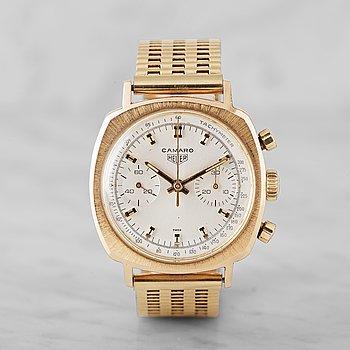 "11. HEUER, Camaro 30, ""Tachymeter"", chronograph, wristwatch, 37 mm,"