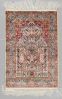 MATTA, silke, Kina, 92 x 63 cm.