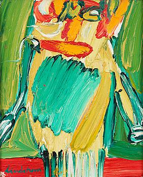 """BENGT LINDSTRÖM, """"FÖRSVARSTALET"""" 1962."""