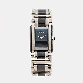 VERSACE, armbandsur, 25 x 25 (32) mm,