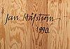 Jan hÅfstrÖm, olja på pannå signerad jan håfström och daterad 1990 a tergo