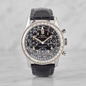 """41. BREITLING, Navitimer, """"AOPA"""", chronograph, wristwatch, 40 mm,"""