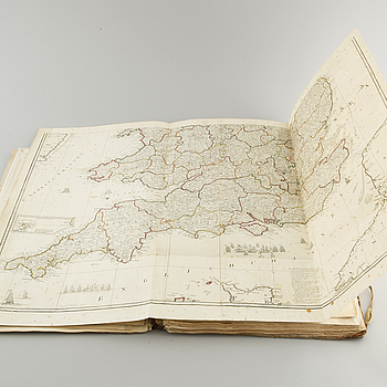 KITCHIN'S GENERAL ATLAS, Robert Laurie and James Whittle, London, 1797.