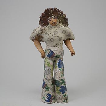 LISA LARSON, unik skulptur, Gustavsberg studio 1974-75.