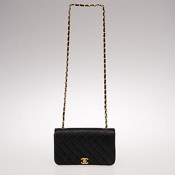 """VÄSKA, """"Full Flap Bag"""", Chanel, 1989-91."""