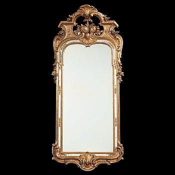 11. A Swedish Rococo 1760's mirror century mirror.