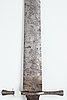 German, the blade from the 1640's, the hilt possibly later