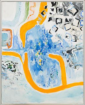 JÖRGEN FOGELQUIST, olja på duk signerad, säljes till förmån för Art for charity/ Stiftelsen Henrik Superman,