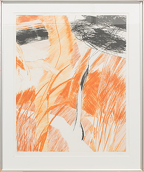 ULF TROTZIG, litograph in colour, signed and numbered 13/50,