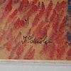 Inge schiÖler, pastel, signed