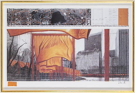 "Christo & jeanne claude, ""the gates, central park, new york"""