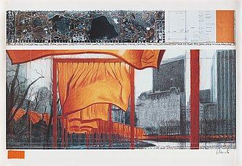 "247. Christo & Jeanne-Claude, ""The Gates, Central Park, New York""."