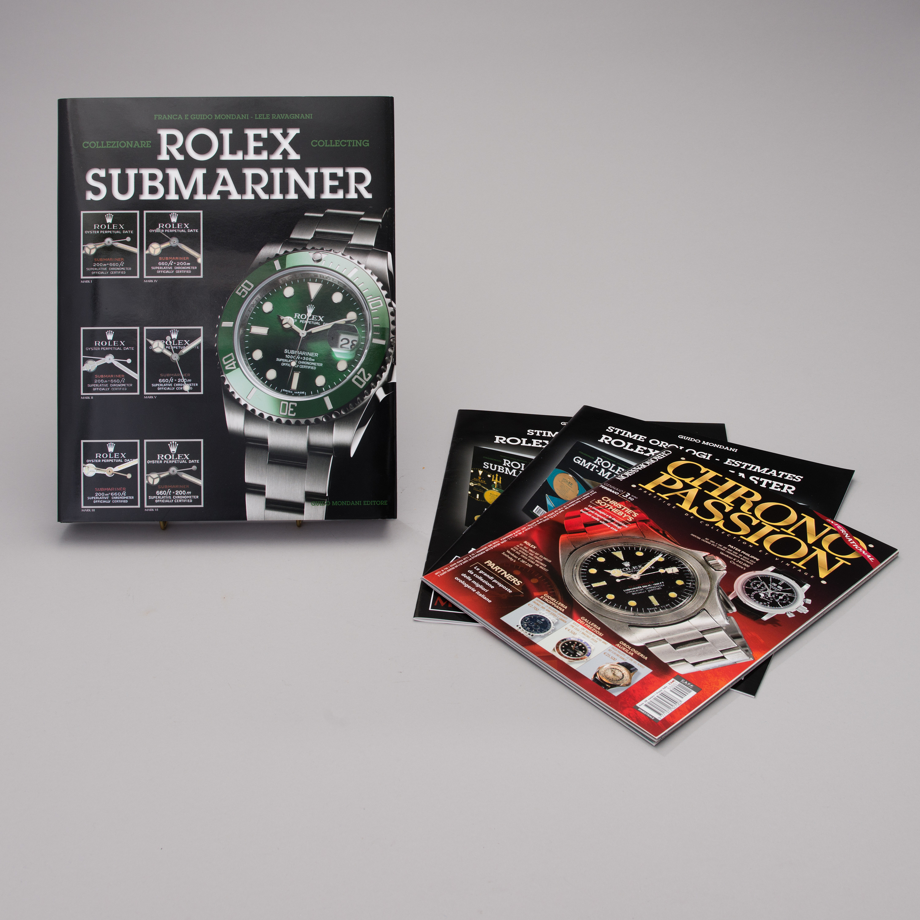 3dffb699c78 COLLECTING ROLEX SUBMARINER book by Franca and Guido Mondani
