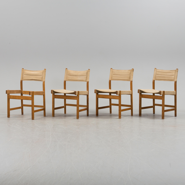 Auktionstipset Kurt Ostervig Stolar 6 St Kp Mobler Danmark