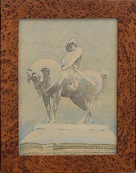 CARL JOHAN FORSBERG, akvarell signerad och daterad 26.