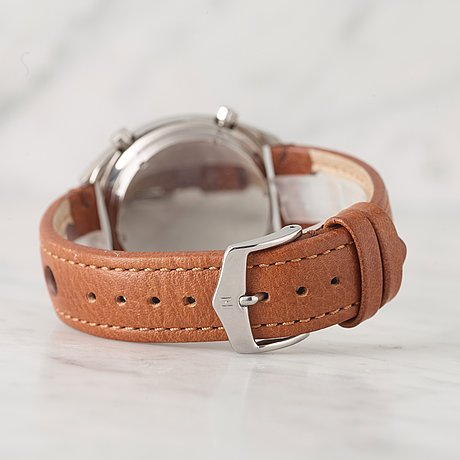 """Heuer, carrera, """"tachy"""", kronograf, armbandsur, 38 mm,"""
