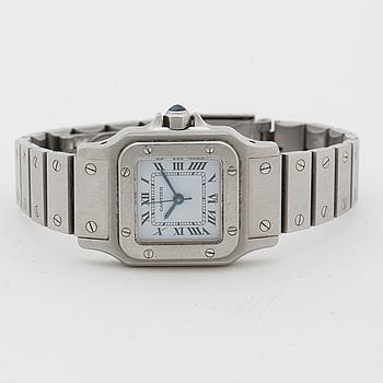 CARTIER, santo de Cartier, armbandsur, 21x24 mm,