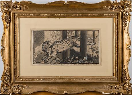 Albert edelfelt, vignett till prinsessan lindagull