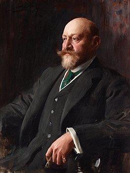 297. Anders Zorn, Sir Ernest Cassel (1852-1921).