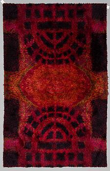 RITVA PUOTILA, A Finnish rya rug for Oy Finnrya Ab. Circa 270x174 cm.