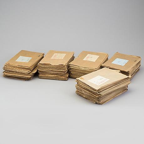 Serietidningar, kalle anka, kompletta ÅrgÅngar 1960-64.