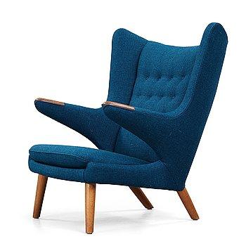 26. Hans J Wegner, a 'Papa Bear' armchair, AP-stolen, Denmark 1950-60's.