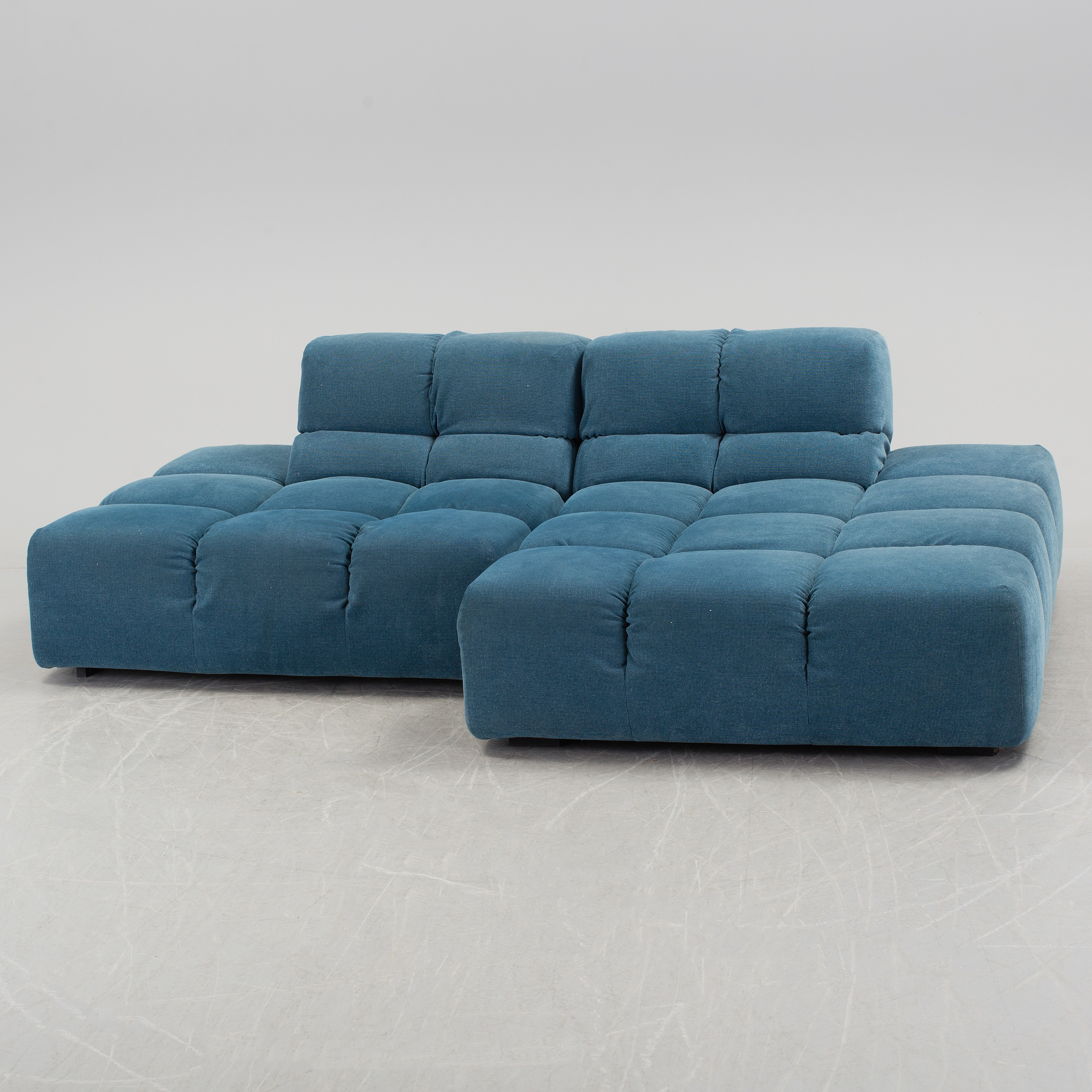 A Twp Sectioned Tufty Time Sofa By Patricia Urquliola For B B