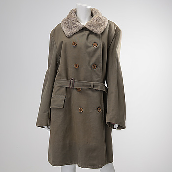 A Swedish 1940´s military coat from Jämtland.