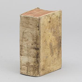 """M Tullii Ciceronis Epistolarum Ad Familiares Libri Xvi...""Francofurti ; Lipsiae : Weidmann, 1736."