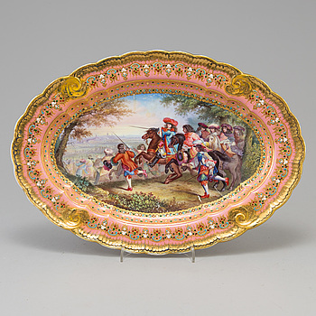 FAT, porslin, Sèvresliknande märke, 1800-tal.