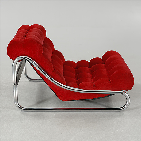 A lounge chair by gillis lundgren for ikea, 1970s.