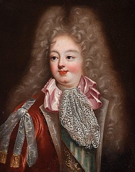 303. Pierre Gobert Attributed to, Louis of France - Grand Dauphin (1661–1711).