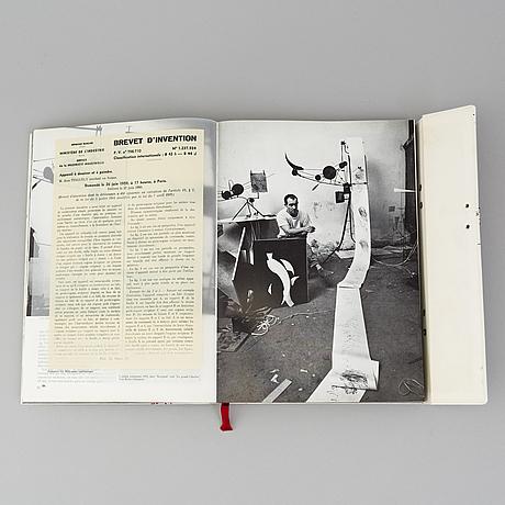 "Book, ""jean tinguely méta"", kg pontus hultÈn, moderna museet, malmö 1972."