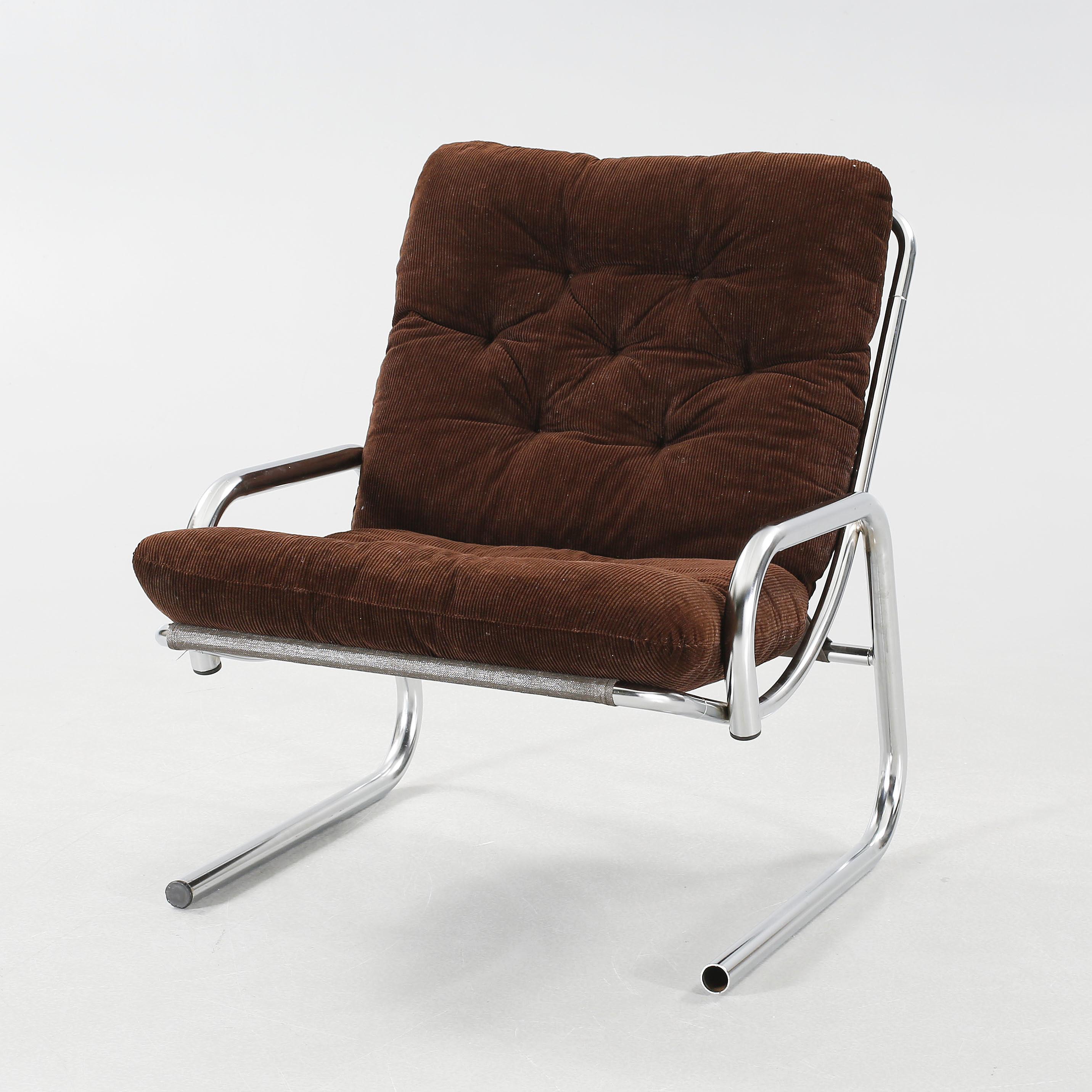 Auktionstipset FÅTÖLJ 1970 tal.