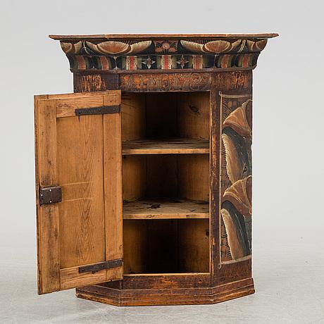 A swedish folk art cabinet dated 1789.